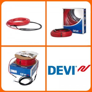 Нагрівальні кабелі Devi