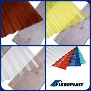 Прозорий шифер зі склопластику Fibroplast