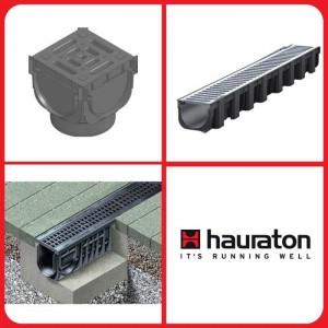 Cистеми лінійного водовідводу HAURATON
