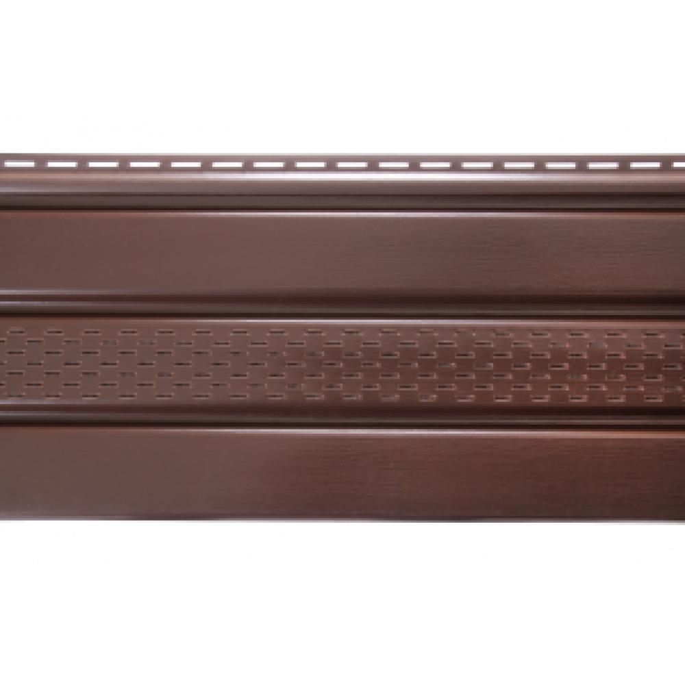 Софіт ASKO панель перфорована (коричнева)