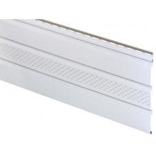 Софіт АйДахо панель з перфорацією (біла)