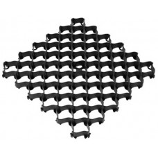Решетка газонная усиленная с высоким профилем AltaProfil 500x500 черная