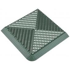 Решетка газонная AltaProfil 400x400 с дополнительным обрамлением зеленая