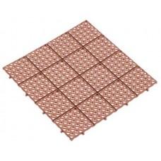 Решетка газонная AltaProfil 333x333 универсальная коричневая
