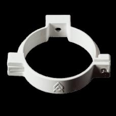 Хомут водостічної труби ProAqua Ø110 мм білий (RAL 9010)