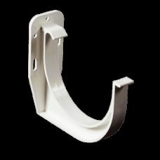 Кронштейн ринви ProAqua (ПВХ) Ø125 мм білий (RAL 9010)