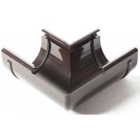 Кут внутрішній 90° ProAqua Ø75 мм темно-коричневий (RAL 8019)