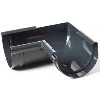 Кут внутрішній 90° ProAqua Ø75 мм графітовий (RAL 7016)