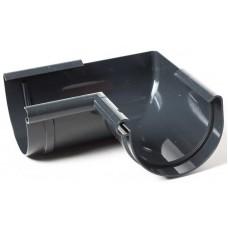 Кут внутрішній 90° ProAqua Ø125 мм графітовий (RAL 7016)