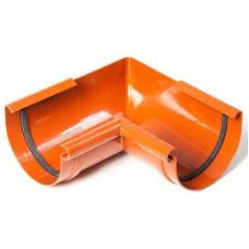 Кут внутрішній 90° ProAqua Ø125 мм цегельний (RAL 8004)