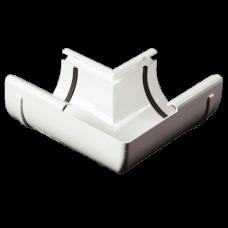Кут внутрішній 90° ProAqua Ø125 мм білий (RAL 9010)
