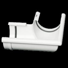 Кут зовнішній 90° ProAqua Ø125 мм білий (RAL 9010)