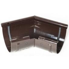 Кут внутрішній 135° ProAqua для з'єднання ринви Ø125 мм темно-коричневий (RAL 8019)