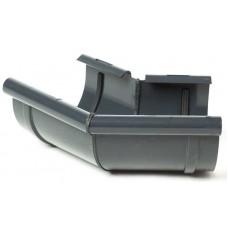 Кут внутрішній 135° ProAqua для з'єднання ринви Ø125 мм графітовий (RAL 7016)
