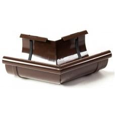 Кут внутрішній 135° ProAqua для з'єднання ринви Ø125 мм світло-коричневий (RAL 8017)
