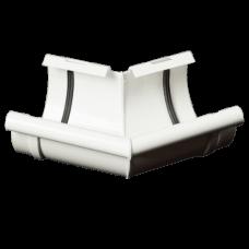 Кут внутрішній 135° ProAqua для з'єднання ринви Ø125 мм білий (RAL 9010)