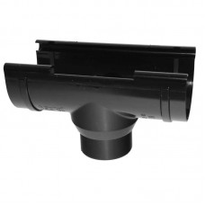 Лійка водостічна ProAqua 125 мм чорна (RAL 9005)
