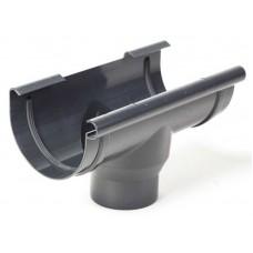Лійка водостічна ProAqua 125 мм графітова (RAL 7016)