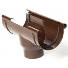Лійка водостічна ProAqua Ø150 мм світло-коричнева (RAL 8017)