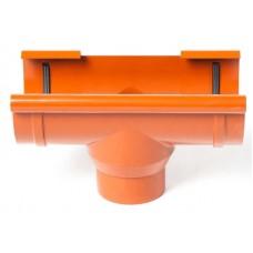 Лійка водостічна ProAqua 125 мм цегельна (RAL 8004)