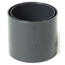 Муфта водостічної труби ProAqua Ø110 мм графітова (RAL 7016)