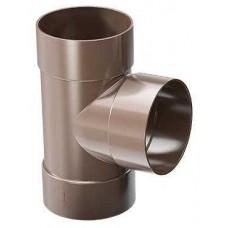Трійник 67,5° ProAqua Ø110 мм світло-коричневий (RAL 8017)