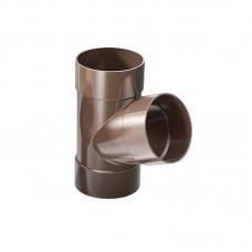Трійник 67,5° ProAqua Ø110 мм темно-коричневий (RAL 8019)