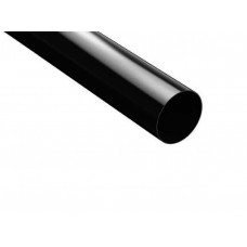Труба водостічна ProAqua 125/90 3м чорна (RAL 9005)