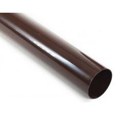Труба водостічна ProAqua 125/90 3м світло-коричнева (RAL 8017)