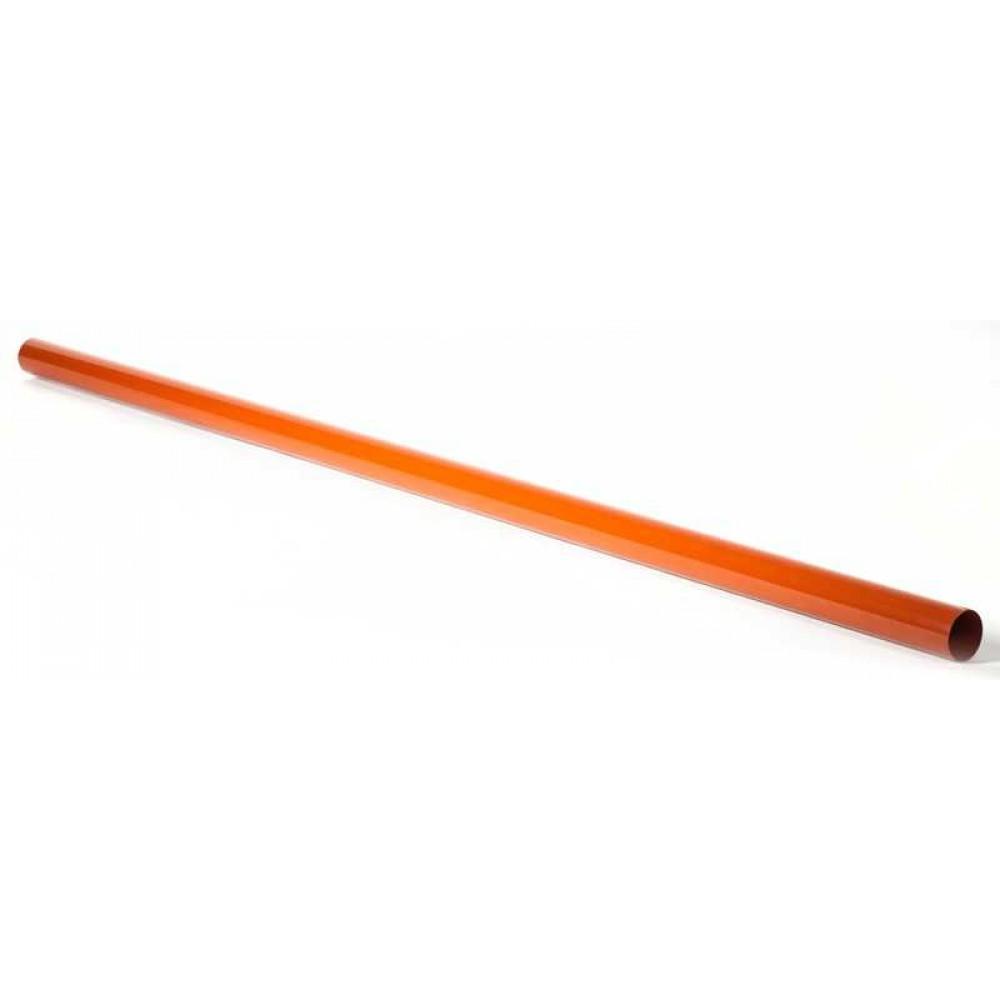 Труба водостічна ProAqua 125/90 3м цегельна (RAL 8004)