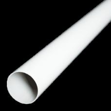 Труба водостічна ProAqua 125/90 3м біла (RAL 9010)