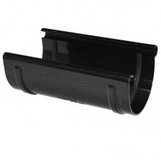 З'єднувач ринви ProAqua Ø125 мм чорний (RAL 9005)