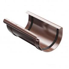 З'єднувач ринви ProAqua Ø125 мм світло-коричневий (RAL 8017)