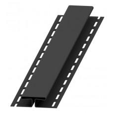 Планка H для софіту BudMat (чорна)
