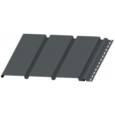 Софіт BudMat панель без перфорації (графіт)