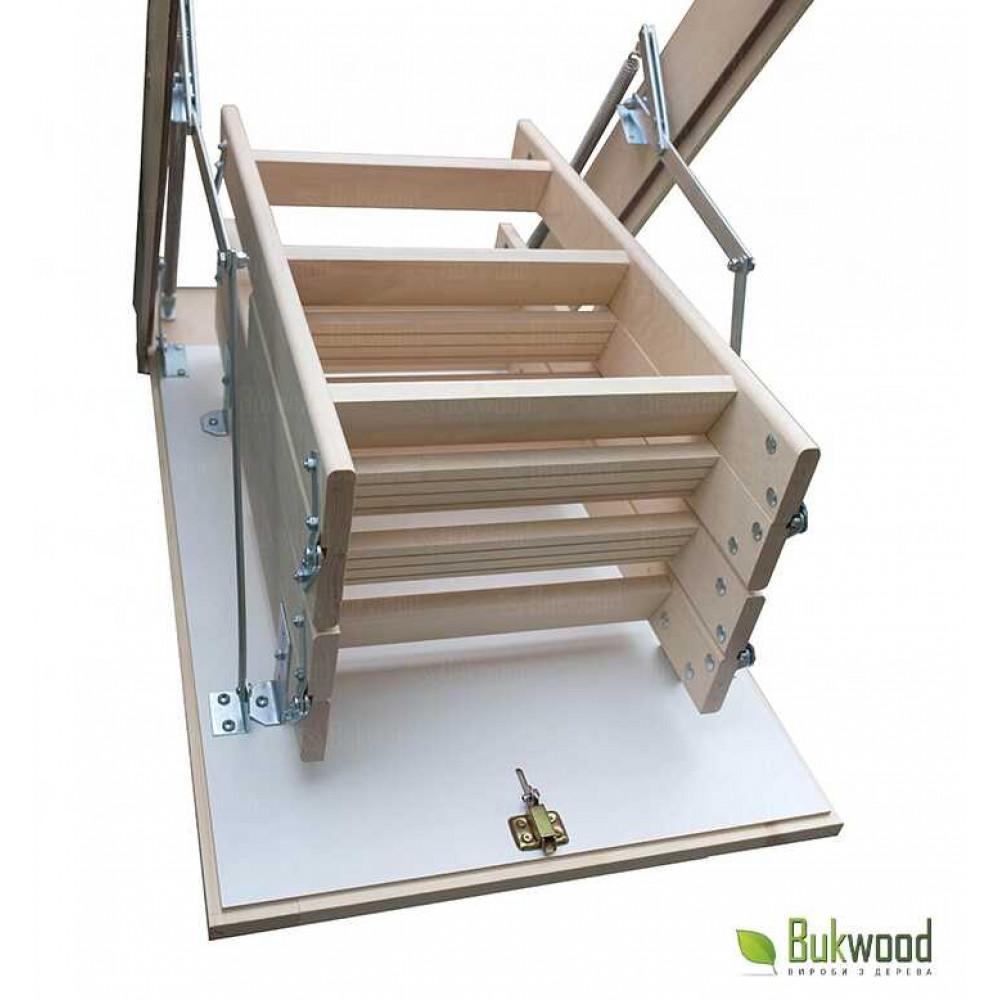 Bukwood Compact Long 110х60 чердачная лестница