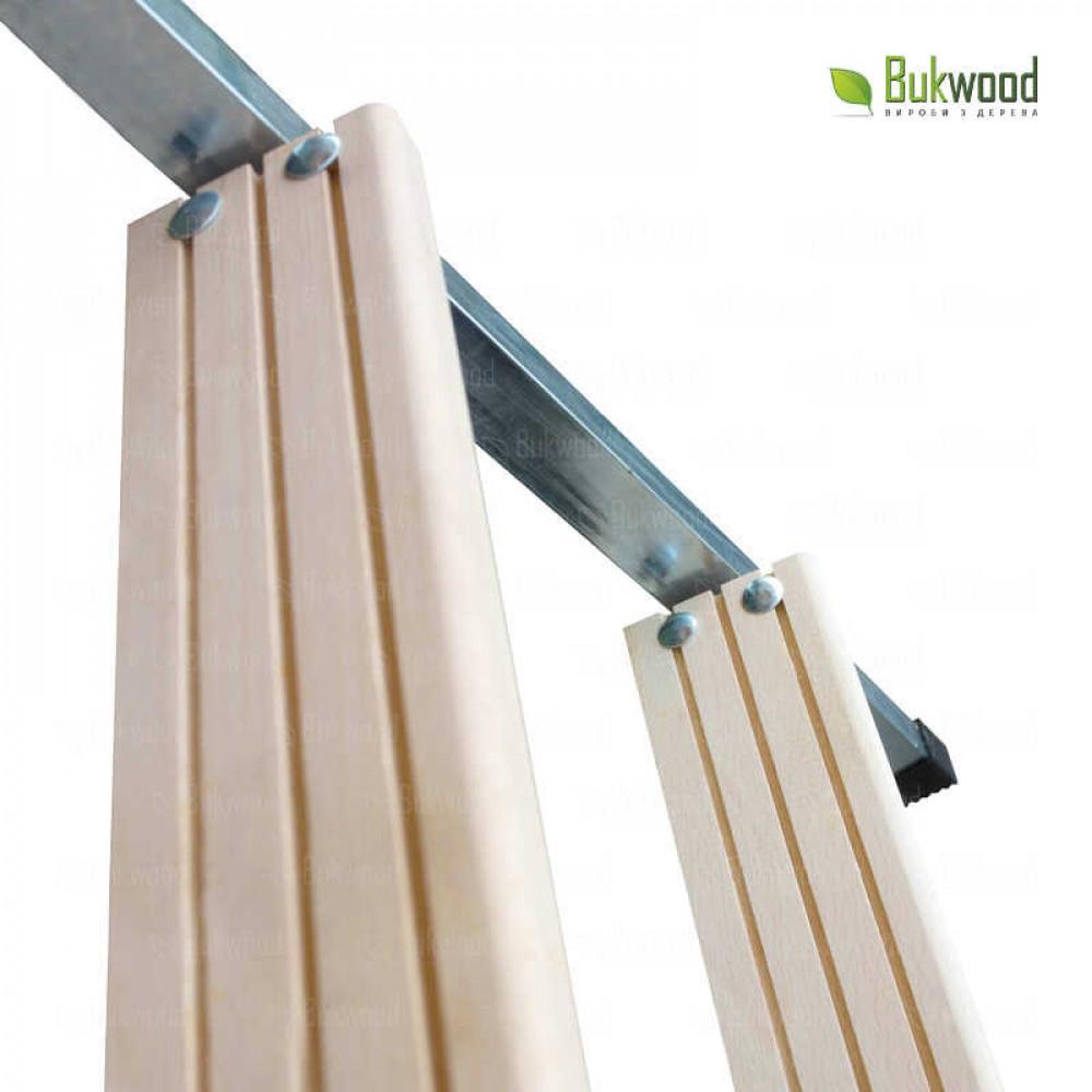 Bukwood Compact Metal 120х90 дахова драбина
