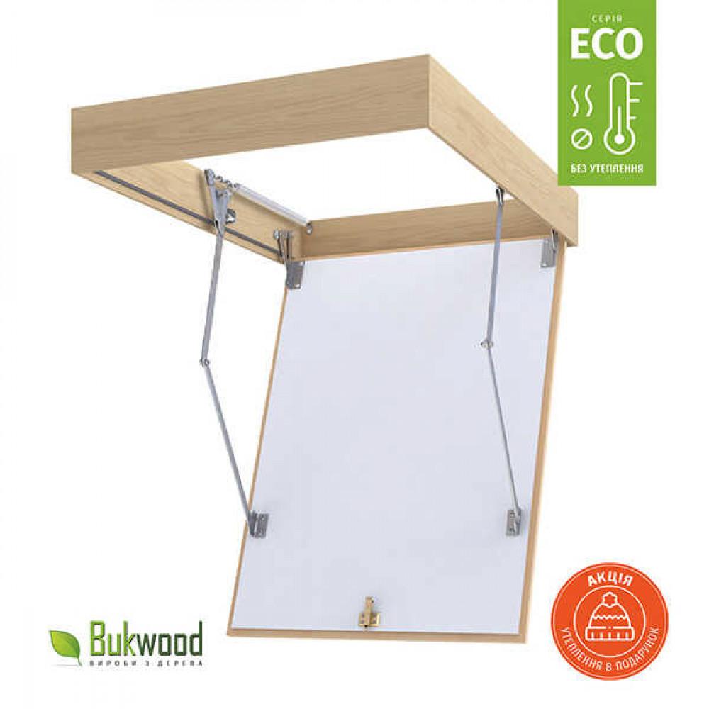Люк на чердак Bukwood Eco 110x90 см без утепления