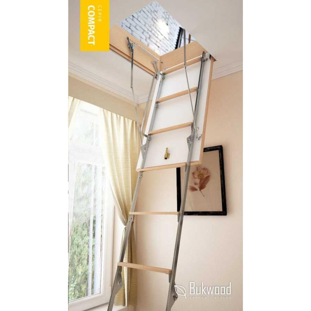 Bukwood Compact Metal 80х70 чердачная лестница