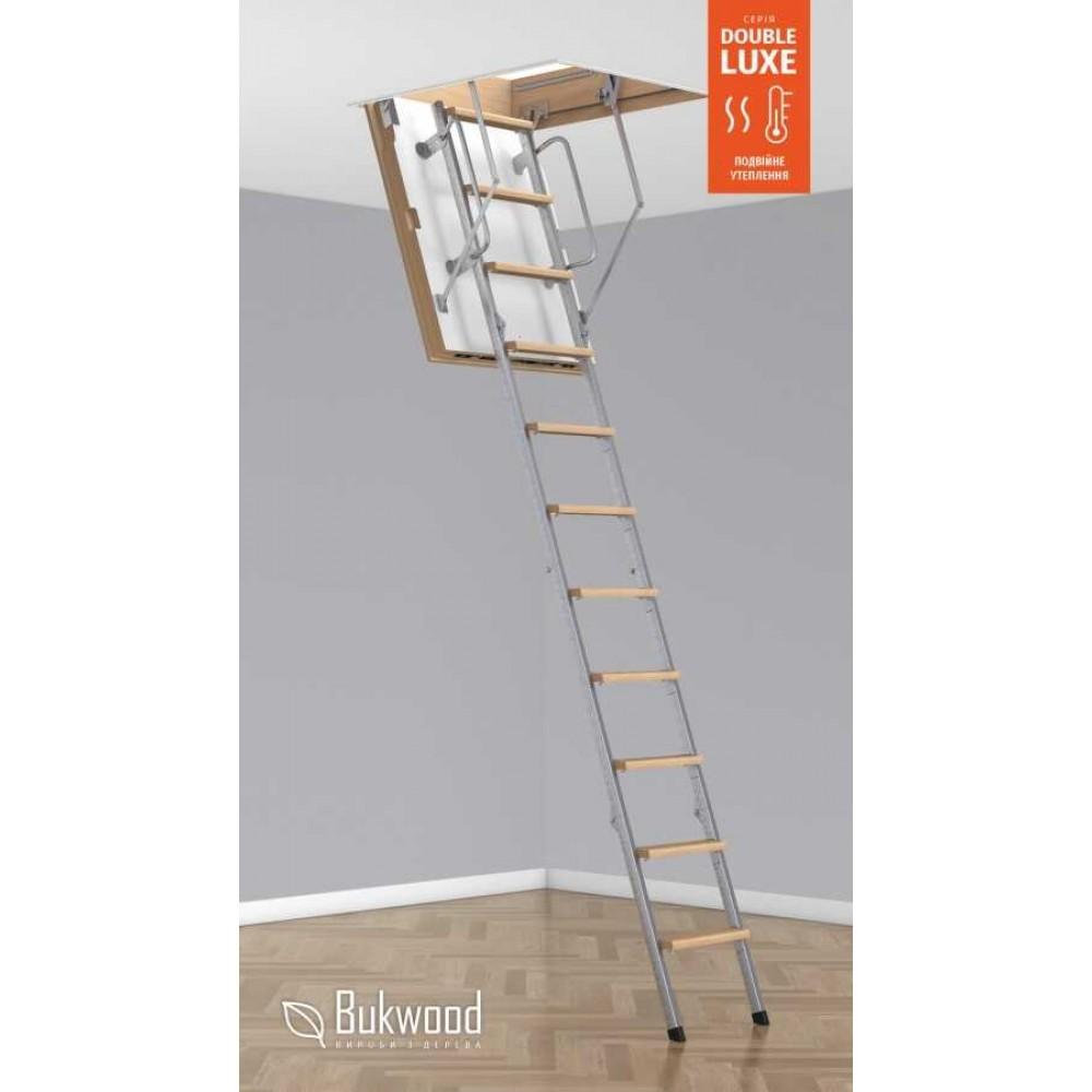 Bukwood MegaLuxe METAL 90х60 чердачная лестница