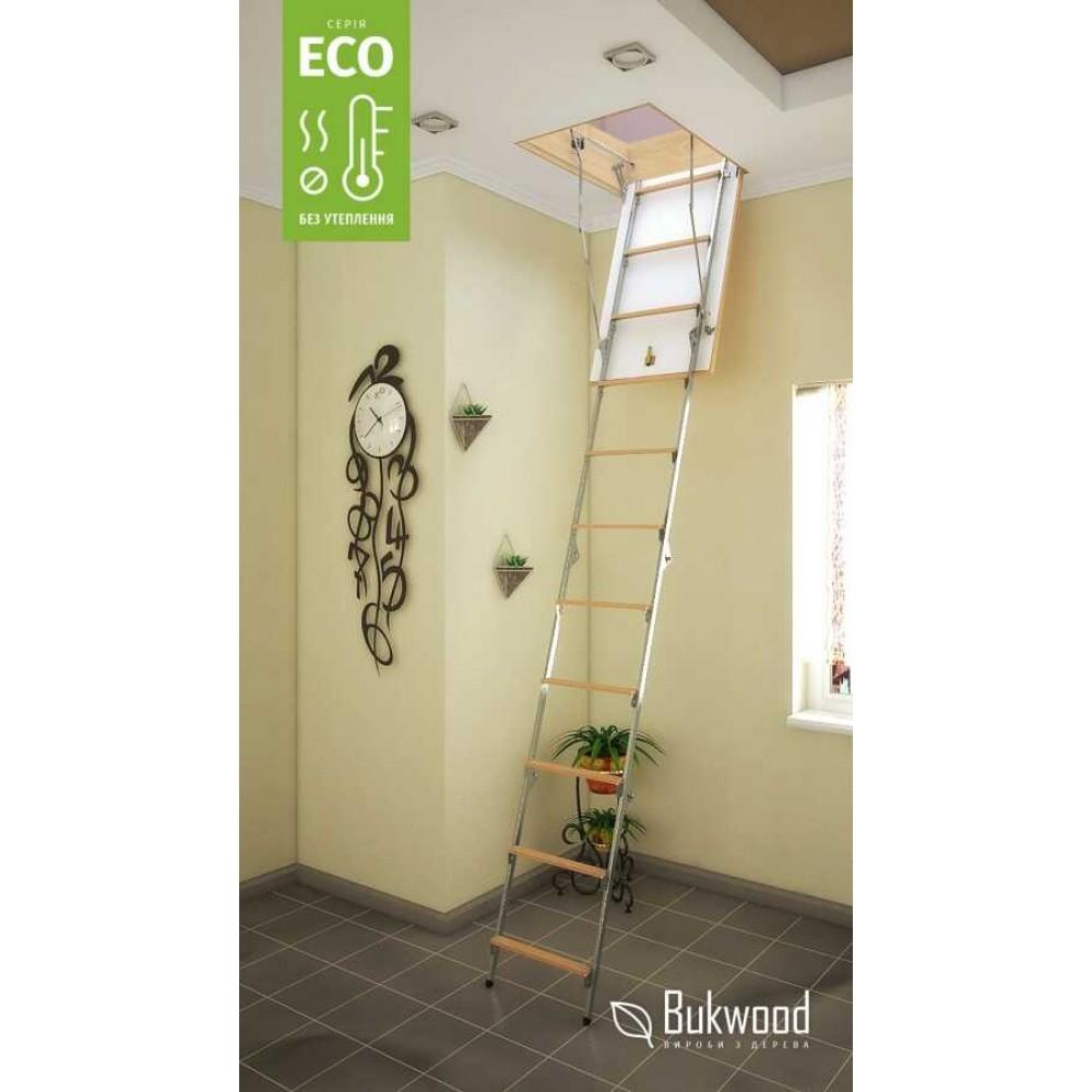 Bukwood Eco Metal 80х80 мансардні сходи
