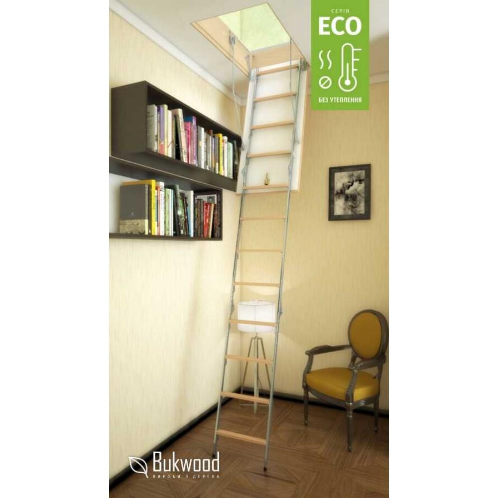 Bukwood Eco Metal 110х60 мансардні сходи