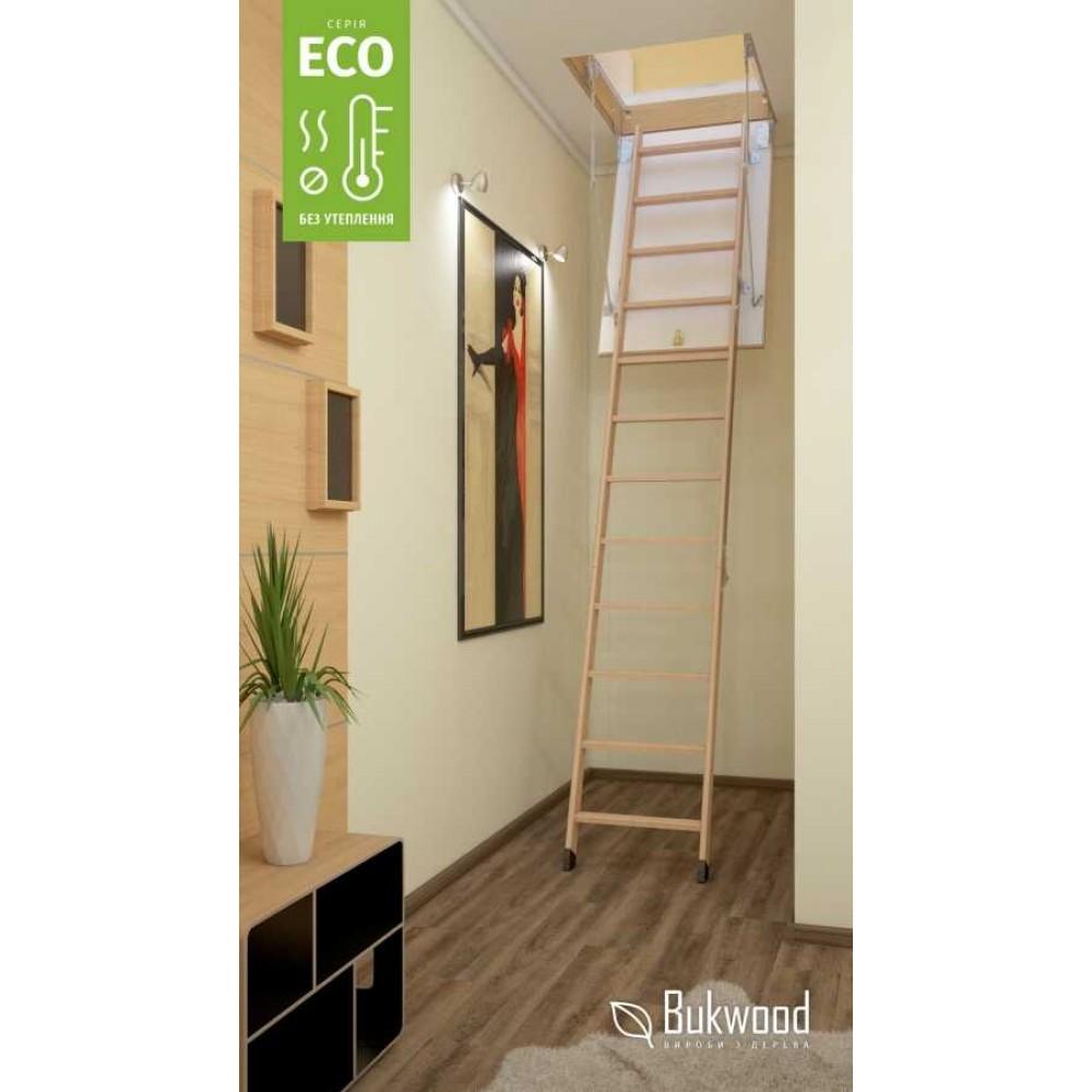 Bukwood Eco ST 110х70 мансардна драбина