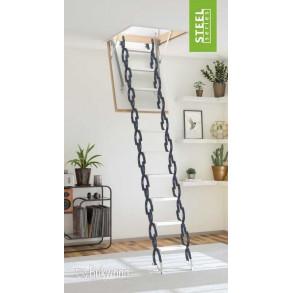 Уникальные чердачные лестницы Bukwood Steel Clips