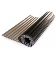 Прозорий гофрований шифер ЕліПласт бронзовий 1,5 м 0,85 кг/кв.м