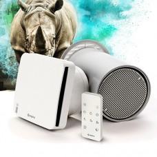 Рекуператор Aspira RhinoComfort 160 RF з антибактеріальною фотокаталізною очисткою повітря