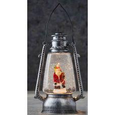 LED ліхтар декоративний Санта Luca Lighting пластиковий сірий