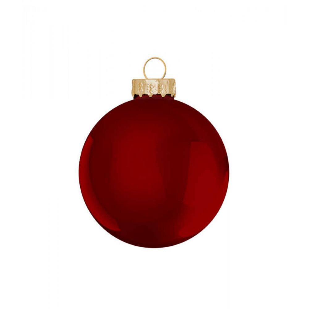 Ялинкові кульки House of Seasons комплект 26 шт червоний
