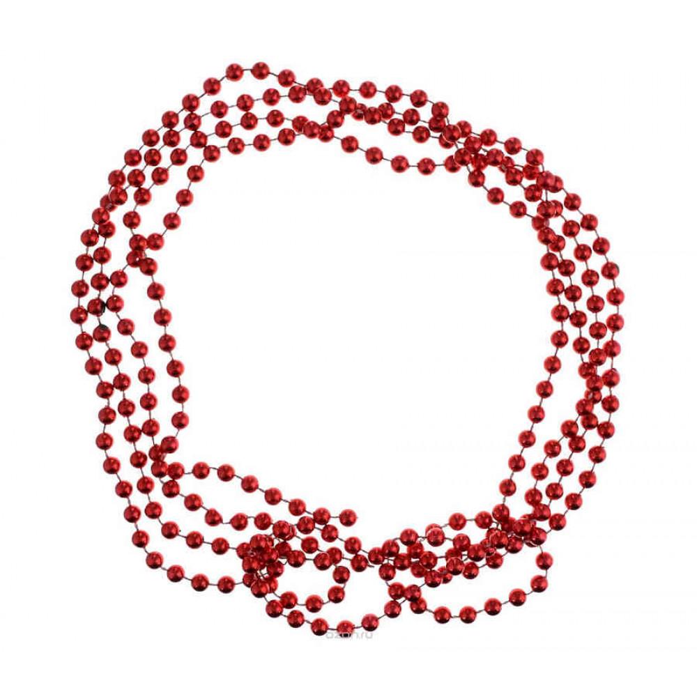 Ялинкові кульки House of Seasons комплект 33 шт червоний
