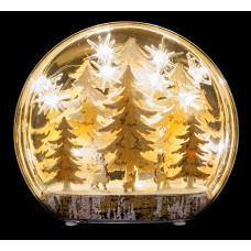 LED прикраса Зимові дерева Luca Lighting пластикова настільна